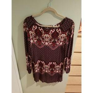 Charlotte Russe beautiful paisley tunic/dress